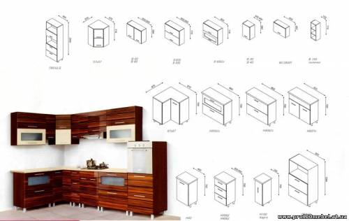 Как собрать модульную кухню